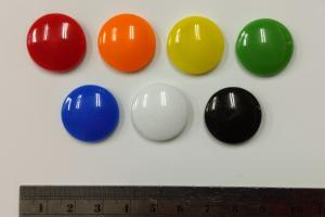 2Cm Circular Glass Whiteboard Magnet Can Hold 3 Sheets Of Paper