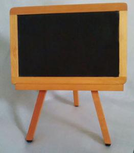 BLACK DRY-ERASE SUFER PLACARD