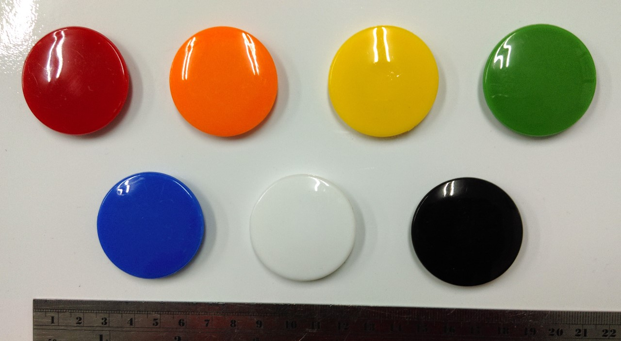 4Cm Circular Glass Whiteboard Magnet Can Hold 10 Sheets Of Paper